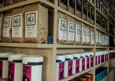 Arrange a tasting at the Hej Roastery